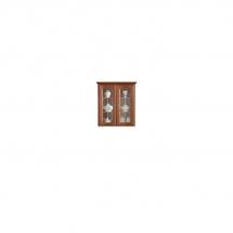 Prosklená vitrína ořech vlašský BAWARIA DNAD 2W