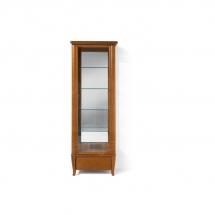 Prosklená vitrína třešeň orlando ORLAND REG1W1S/60