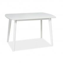 Stůl jídelní bílý LUTON