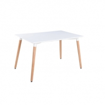 Stůl jídelní bílý NOLAN