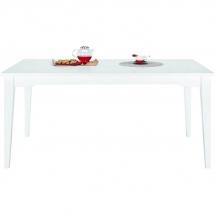 Stůl jídelní bílý ELLA 12