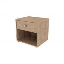 Noční stolek dub craft zlatý MOMENT STN.1S