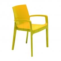 Křesílko CREAM - giallo