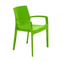 Křesílko CREAM - verde
