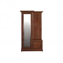 Předsíňová stěna se skříní se zrcadlem kaštan KENT EPPK 110