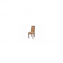 Židle jídelní dřevěná čalouněná višeň primavera BOLDEN XKRS