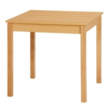 Stůl jídelní čtvercový buk FAMILY RS 80