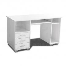 Stůl počítačový bílý ANA 3F