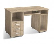 Stůl počítačový dub bardolíno ANA 3F
