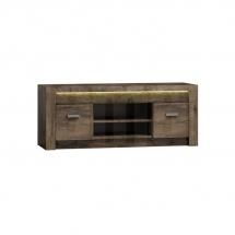 Televizní stolek jasan tmavý INDIANAPOLIS I9