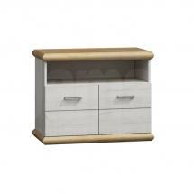 Televizní stolek craft bílý KORA K12