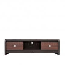 Televizní stolek wenge/akát mali bronz LOREN RTV2S