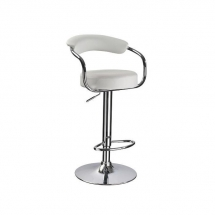 Židle barová bílá Krokus C-231