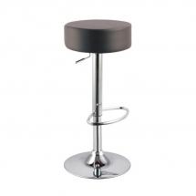 Židle barová černá A-042