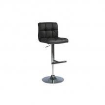 Židle barová černá C-105