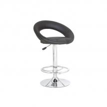 Židle barová černá C-300