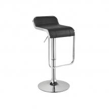 Židle barová černá C-621