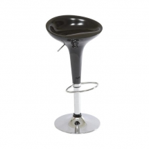 Židle barová černá Krokus A-148