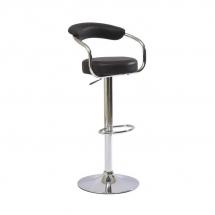 Židle barová černá Krokus C-231