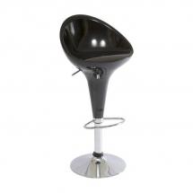 Židle barová černá Krokus C-302