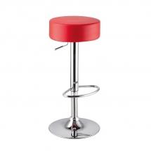 Židle barová červená A-042