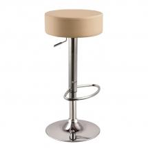 Židle barová krémová A-042