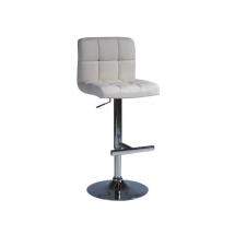 Židle barová krémová C-105