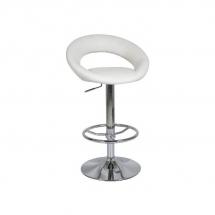 Židle barová krémová C-300