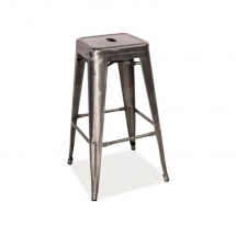 Židle barová ocel LONG
