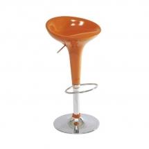 Židle barová oranžová Krokus A-148