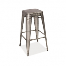 Židle barová síťovaná ocel LONG