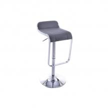 Židle barová šedá C-621