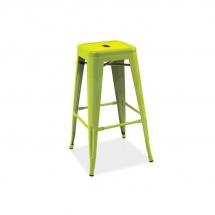 Židle barová zelená LONG
