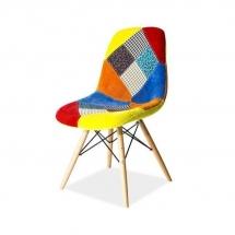 Židle čalouněná patchwork PASCAL C