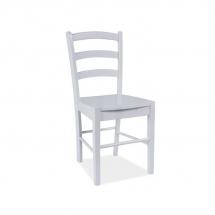 Židle jídelní dřevěná bílá CD-38