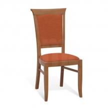 Židle jídelní dřevěná čalouněná jabloň KENT EKRS