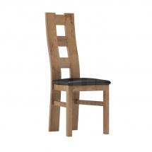 Židle jídelní dřevěná čalouněná jasan JARSTOL