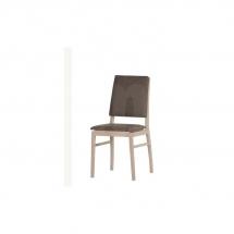 Židle jídelní dřevěná čalouněná látka DESIRE 101