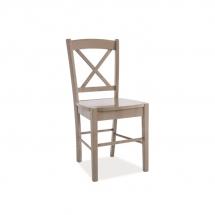 Židle jídelní dřevěná hnědá CD-56