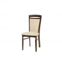 Židle jídelní dřevěná ořech vlašský/potah č.612 BAWARIA DKRS II