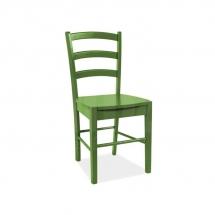 Židle jídelní dřevěná zelená CD-38
