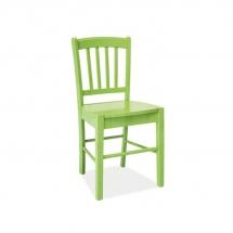 Židle jídelní dřevěná zelená CD-57