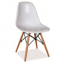 Židle jídelní plastová bílá ENZO