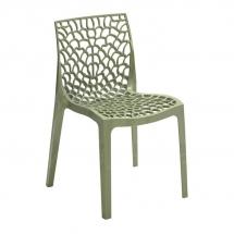 Židle jídelní plastová juta GRUVYER