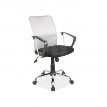 Židle kancelářská šedá Q-078