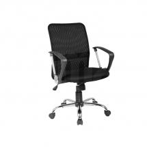 Židle kancelářská černá Q-078