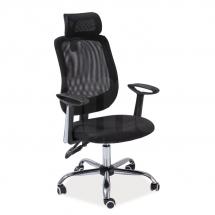 Židle kancelářská černá Q-118