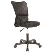 Židle kancelářská černá Q-121