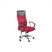 Židle kancelářská červená Q-025