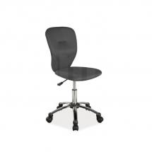 Židle kancelářská dětská černá Q-037
